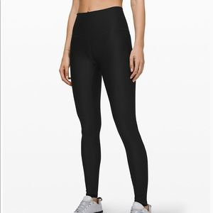 """Lululemon mapped out high rise tight 28"""" size 6"""